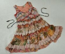 Shop Therapy Mini Dress Sleeveless with Ruffle Ladies Size Small to Medium D12