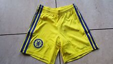 Chelsea FC London Adidas Hose Größe 140 cm (USA S) Kinder Farbe Gelb Neu