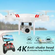 New Drone Camera 4K HD Wifi FpvTransmission Rc Quadcopter Drone Wide Angle Lens