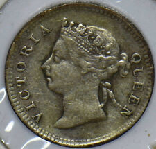 Straits Settlements 1899 Queen Victoria 5 Cents 291136 combine shipping