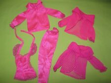 VINTAGE Barbie Doll 1979 Superstar Era BEAUTY SECRETS Original OUTFIT Variations