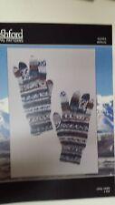 Opal Pattern - AYP020 Gloves using Opal Sock Yarn 3 Ply