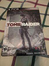 Tomb Raider Steelbook (Sony PlayStation 3, 2013)