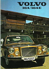 Volvo 164 164E 1971-72 Original UK Market Sales Brochure Pub. No. RSP/PV 29/2-71