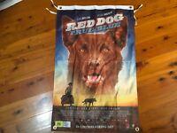 red dog movie Honda motor bike cavecave flag wall hanging signage shed Poster
