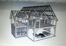 Plans for Oak frame house, self build eco house, 220 sqm,3 bedrooms,