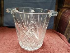 'MINT CONDITION'  ~~ J.G. DURAND 'LEADED' CRYSTAL ICE BUCKET ~~ FREE SHIPPING!!