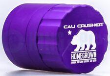 Cali Crusher - Homegrown 4 Piece Herb Grinder - 1.85'' Pocket Size - Purple