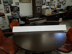 1964-1966 FORD MUSTANG FASTBACK TRUNK LID SPOILER W/END CAPS