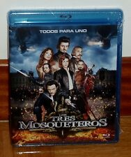 THE THREE MUSKETEERS THE THREE MUSKETEERS BLU-RAY NEW SEALED (UNOPENED)
