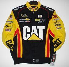 SIZE M NASCAR SPRINT Jeff Burton Cat Caterpillar Cotton Uniform Jacket  MD