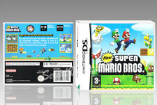 "BOITIER ""NEW SUPER MARIO BROS"", NINTENDO DS, ANGLAIS. SANS LE JEU. NO GAME."
