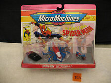 MICRO MACHINES 65804 AMAZING SPIDER-MAN  MARVEL COLLECTION #1 *New MOC* 1993