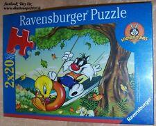 PUZZLE 2x20 PEZZI RAVENSBURGER n°090211 LOONEY TUNES  cod.3275