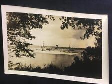 '30 SS Zacarro Ocean Liner Ship Old NYC New York City Original Photo U222