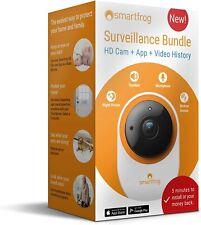 Smartfrog WLAN HD Indoor Surveillance IP Camera incl App Night Vision, Motion De
