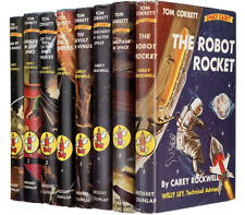 Carey Rockwell:  Tom Corbett: Space Cadet.  Vols 1 - 7.  1st Editions  VF/NM