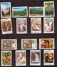 DOMINICA   timbres neufs : usages courants,sujet divers PR600