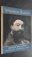 Wilhelm Busch Meister Der Kunst Braun & Co ABE Muehlhausen No Fecha