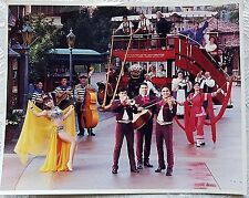 RARE 1991 DISNEY WDW EPCOT ENTERTAINMENT PERFORMERS OMNIBUS PUBLICITY PHOTO