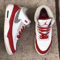 Nike Air Jordan 3 Retro Tinker SP White University Red CJ0939-100 Men's Sz. 11.5