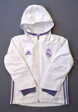 5+/5 Real Madrid Football Soccer Jacket boys 4-5 years long slevee Adidas