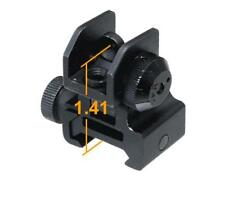 Leapers UTG Low Flip-up Rear Sight w/Windage Adj & Dual Aiming Apertures MNT-951