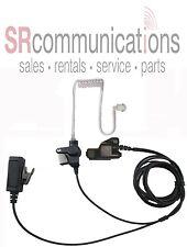 Police 2 Wire Headset W/PTT for Motorola HT1000 MTS2000 MTS2000 MTX8000 MTX9000