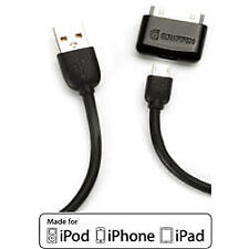 Griffin iPad iPhone iPod Cable de sincronización & carga smartphone