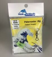 5 x Twisted Paternoster Fishing Rigs 80lb 6/0 Octopus Hook Snapper Snatcher Rig