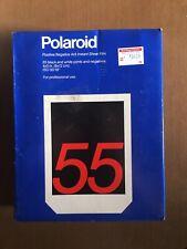 Polaroid Type 55 Instant P/N Sheet Film 4x5 Black White Exp. 12/1994