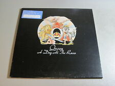 Queen- A Day At The Races- LP 1976 Elektra 6E-101 Promo White Label