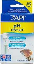 New listing Api Ph Test Kit 250-Test Freshwater Aquarium Water pH Test Kit