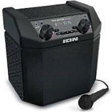 ION AUDIO TAILGATER PLUS 50W PORTABLE OUTDOOR BLUETOOTH SPEAKER USB MICROPHONE