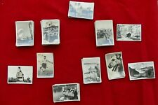 More details for selection of approx. 100 senior service photo cigarette cards - variety of sets