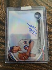 2013 BOWMAN PLATINUM BARRET LOUX AUTOGRAPH BASEBALL CARD Chicago Cubs INVEST