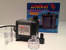 LifeTech AP1000 Submersible Aquarium Fish Tank Internal Filter Pump