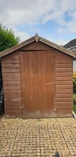 Garden shed 8 x6 tongue and groove used