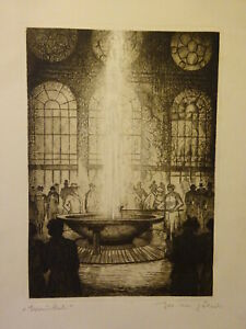 GÖHSL Josef Michal (1898 v Karlových Varech-1950): Karlsbad Print Signed Titled
