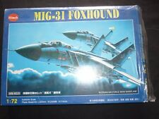 A Kitech un made plastic kit of a MIG-31 FOXHOUND, boxed
