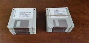 "Microsoft Windows Office 3 1/2"" 3.5"" Floppy Disk  1994  27xDisks"