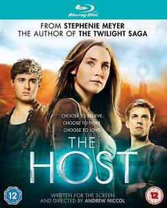 New & Sealed The Host Blu Ray Region B Stephenie Meyer Twilight Saga Author