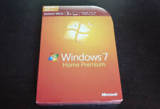 BRAND NEW Microsoft Windows 7 Home Premium Upgrade Family Pack
