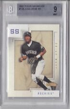 2001 Fleer Showcase Juan Uribe Rookie Graded BGS 9