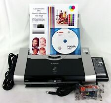 (New Inside) Canon PiXMA iP90v Mobile Portable Travel Printer+ Extras i80 iP100