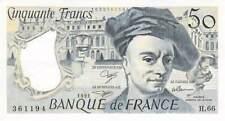 France 50 Francs Quentin de la Tour - 1961 Série H.66 - SUP