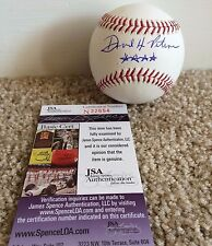 David Petraeus Signed Autograph OMLB Baseball **** Star Inscription JSA Rare