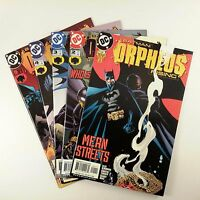Batman: Orpheus Rising Complete Set of 5 (#1 2 3 4 5) VF to NM Turner Miki