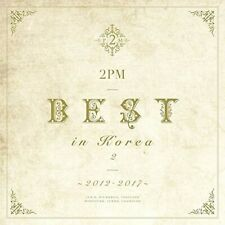 New 2PM BEST in Korea 2 2012-2017 First Limited Edition Type A CD DVD Japan