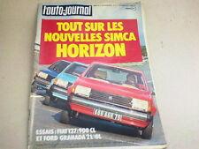 L AUTO JOURNAL - N° 21  - ANNEE  1977  *
